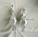 手錠が付いているマニラ紙の強奪ブロックのための可鍛性鉄のシェルのブロック
