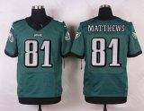 Pullover di gioco del calcio personalizzato Matthews del Giordano del curry di Filadelfia Eagles Vinny