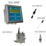Ylg-2058産業オンラインデジタルの残りの塩素の検光子