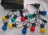Luz de la cadena de la decoración de la Navidad de G45 LED