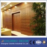 ホーム装飾の音響材料の木の吸音力の壁パネル