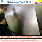 Bobina de aço revestida Aluzinc superior do Galvalume de Az15g para a telhadura