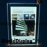 Affichage à cristaux LED avec poster lenticulaire 3D