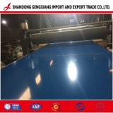 A fábrica de papelão ondulado de zinco Alumínio PPGL galvanizado folha de metal da bobina