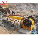 Minibergbau-Stein-Kiefer-Zerkleinerungsmaschine-Maschine für mittelgrossen Felsen