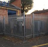 Alta qualidade estilo gótico montadas facilmente a barreira de paliçada galvanizado