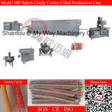 Almidón de caramelo Equipo de producción con la almohadilla de la máquina de embalaje