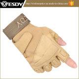 Esdy戦術的な半分指の屋外スポーツのオートバイの安全手袋