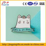 Очень популярный значок эмали кота шаржа