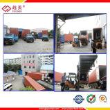 ISO9001 keur het In reliëf gemaakte die Blad van het Polycarbonaat goed voor het Venster van de Deur wordt gebruikt