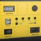 太陽電池パネルの発電機LEDの照明装置USB太陽ランプ10W+FM