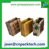 Sac de papier de emballage de luxe de transporteur de Tailoreg de constructeur