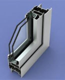 Yl Power Coating Aluminium Profile pour Windows et Door