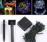 Luzes de Natal solares do diodo emissor de luz para decorações ao ar livre