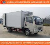 Carro del refrigerador de Dongfeng 130HP 4X2