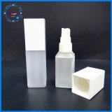 Embalagem de cosméticos vaso de quadrados mínimos baixa para uma loção