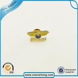 Estampar la insignia conocida de la insignia del metal para el recuerdo