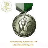 5K Personalizado de fábrica de cintas grabadas Premios trofeos y medallas deportivas