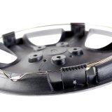 Tampa de prata da borda da pele dos tampões de cubo para a roda do ABS do OEM
