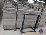 より安く自然な磨かれた水晶木製の穀物のフロアーリングの大理石