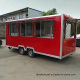 屋外の食糧カート、環境の食糧車