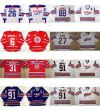 Индивидуальные Ohl Oshawa генералов Джерси 26 Shane Дойл 6 Джимми Mcdowell 88 Эрик Lindros мужская дети женщин сшитое по хоккею футболках Nikeid Goalit разрез