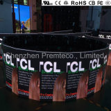 최고 유럽 질 실내 P4.8를 가진 LED 영상 벽