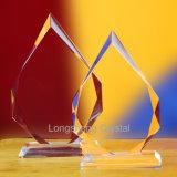 昇華印刷のクリスタルグラス賞、水晶トロフィの氷のピーク