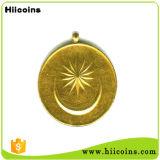 2016 medaglie di oro all'ingrosso della medaglia e di abitudine del metallo