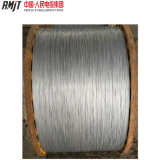 fio de alumínio folheado de alumínio do fio de aço de 4.11mm (20.3%IACS) único