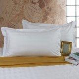 L'assestamento economico 100% del cotone ha impostato 3 insiemi del lenzuolo dell'hotel di disegno della banda di cm