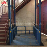Cores Personalizadas a venda directa de fábrica 10m 5 tonelada de Carga Vertical Hidráulica do mecanismo de elevador de material de bens com marcação CE a certificação ISO