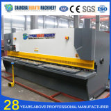 Machine de tonte hydraulique QC12y-12X2500 de commande numérique par ordinateur