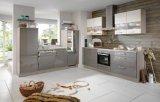 Moderner Karkasse-Lack-Tür-Panel-Küche-Möbel-Schrank des Melamin-2017