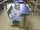 Novo design único permanente de mesa e cadeira para a escola
