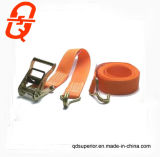 Il cricco della tessitura del poliestere lega giù il carico della cinghia che frusta la cinghia della cinghia