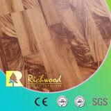 Vinyl des Großverkauf-8.3mm E1 AC3 prägte Walnuss-Ahornholz-Parkett-Holz lamellierten Bodenbelag