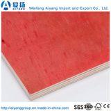卸し売り最上質の堅材のコア12mm赤いフィルムは合板に直面した