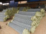Оцинкованный/PVC звено цепи сад проволочной сеткой безопасности утюг металлические фермы ограждения для обеспечения безопасности