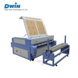 レーザーの二酸化炭素のガラスアクリルの合板のペーパーファブリック切断の彫版機械価格