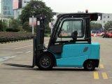 China 3. Ton Carretilla elevadora eléctrica Mini Batería fabricante de la carretilla con motor AC / DC