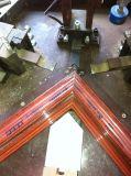 Macchina di pettinatura del portello della finestra di alluminio singola e di piegatura idraulica d'angolo