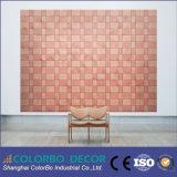El panel de madera del aislante sano de la fibra de la decoración de la pared interior de la oficina