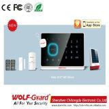Sistemas de alarme Home contra-roubo sem fio da segurança do intruso da G/M com teclado do toque--Yl-007m2g
