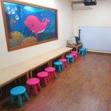 Hölzerner Oberflächenvinylbodenbelag für Kindergarten