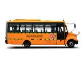 Sunlong Slk6800 디젤 엔진 학교 버스