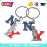승진 기념품 선물 주문 국기 금속 Keychain 열쇠 고리 #B301
