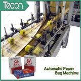 Bolsas de papel pegadas Full-Automatic de la válvula que hacen la máquina