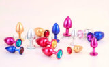 Heet verkoop Anale Stoppen van de Parels van de Juwelen van het Metaal de Anale voor Volwassene