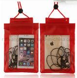 Wholesale impermeable de PVC bolsa de playa para teléfono móvil